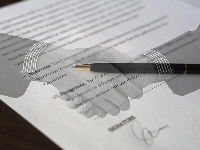 písemná dohoda